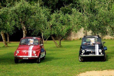 mice italien oldtimer fiat 500 toskana exklusive routen. Black Bedroom Furniture Sets. Home Design Ideas